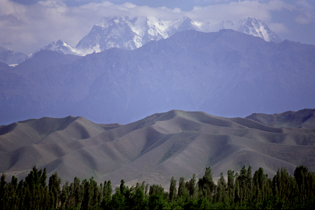 tien shan mountains. Tian Shan Mountain range,